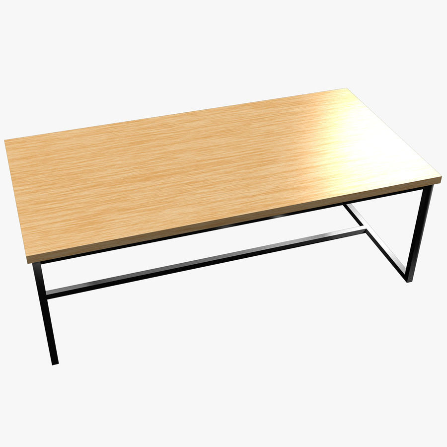 Mesa de comedor minimalista royalty-free modelo 3d - Preview no. 1