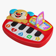 Musical Toy Piano 3d model