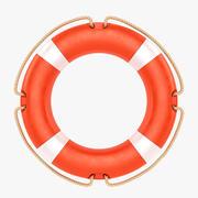 Спасательный круг 3d model