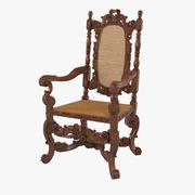 안락 의자 영어 (1680) 3d model