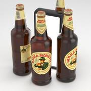 Bottiglia da birra Birra Moretti 660ml 3d model