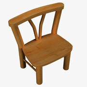 Country Style Chair 3d model