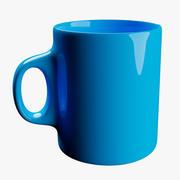 杯AquaBlue 3d model