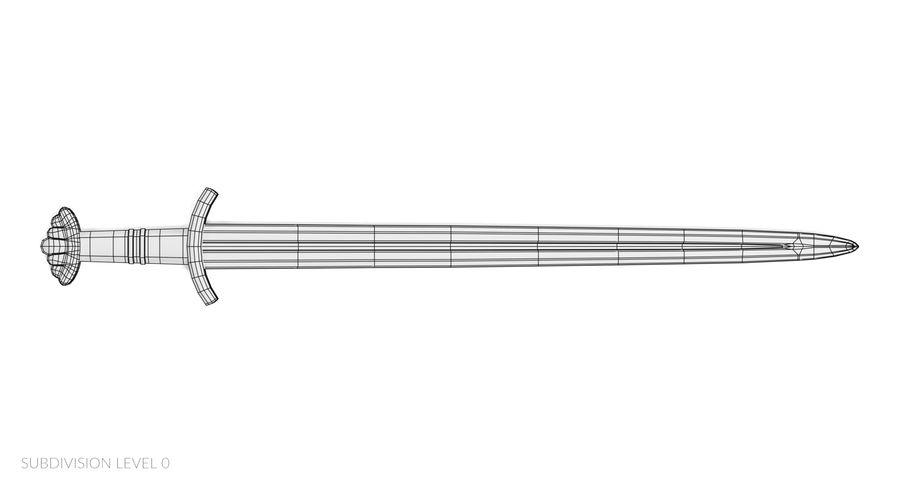 Viking Sword royalty-free 3d model - Preview no. 10