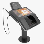 Terminal kart kredytowych 01 3d model