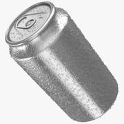Aluminium-Nassdose 3d model