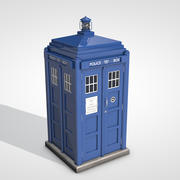 Dr Who Tardis 3d model