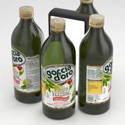Bottiglia Goccia d Oro Extra Vergine di Oliva Selezione 1000ml 3d model