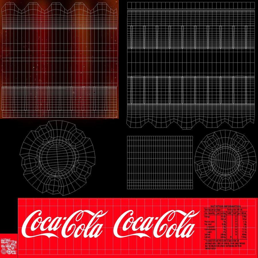 Coca Cola Bottle royalty-free 3d model - Preview no. 14