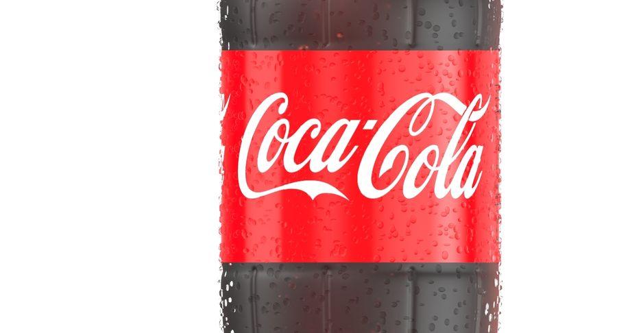 Coca Cola Bottle royalty-free 3d model - Preview no. 8