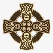 Krzyż celtycki 2 3d model