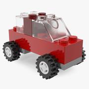Lego Toycar Modelo 3D modelo 3d