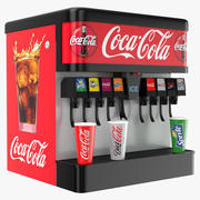 Soda Fountain Dispenser 3d model
