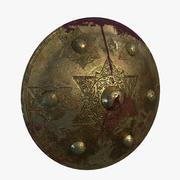 Brass Shield 3d model