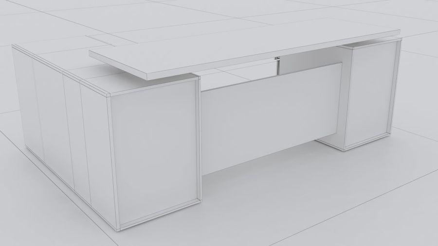 Diseño de oficina minimalista de lujo royalty-free modelo 3d - Preview no. 5