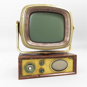 Retro TV Set 3d model