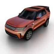 Land Rover Discovery 2017 3d model