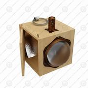 Lamp, Leonardo da Vinci 3d model
