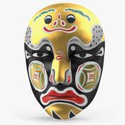 チャイニーズマスク 3d model
