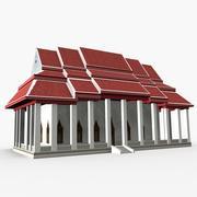 Wat Pradoochimplee 3d model
