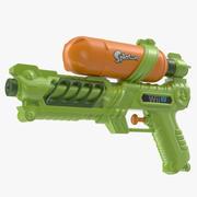 Pistolet à eau Splatoon 3d model