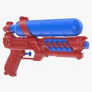 Model 3D pistoletu na wodę 3d model