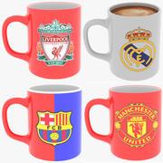 FC Mug Koleksiyonu 3d model