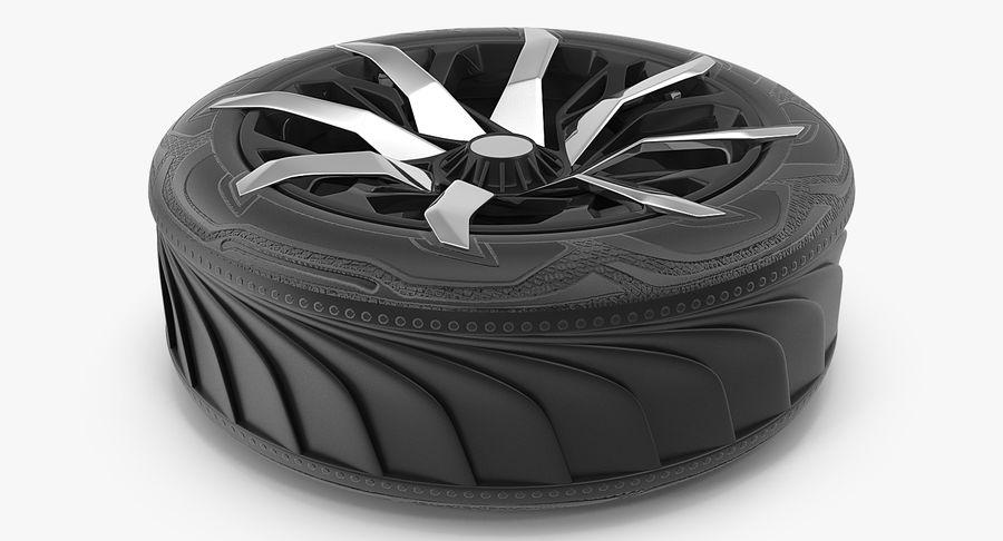 Rueda conceptual royalty-free modelo 3d - Preview no. 6