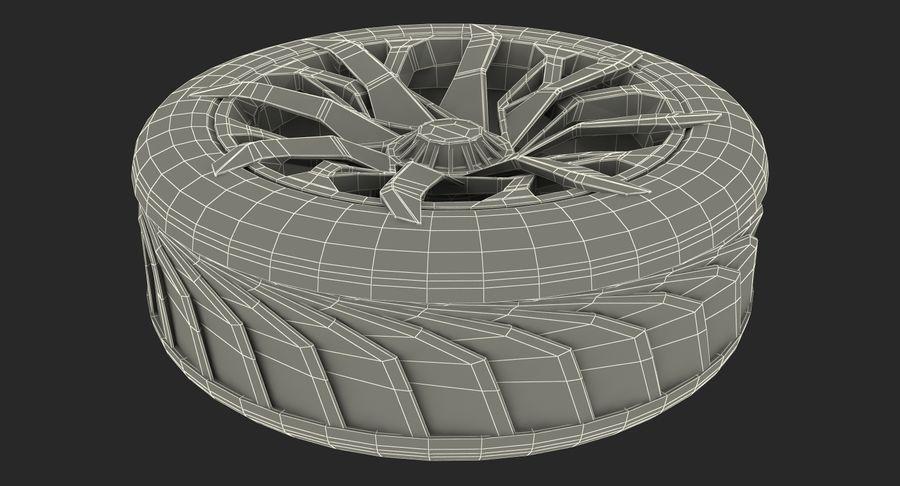 Rueda conceptual royalty-free modelo 3d - Preview no. 18