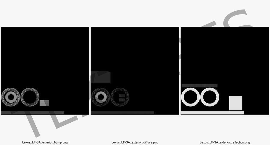 Rueda conceptual royalty-free modelo 3d - Preview no. 13