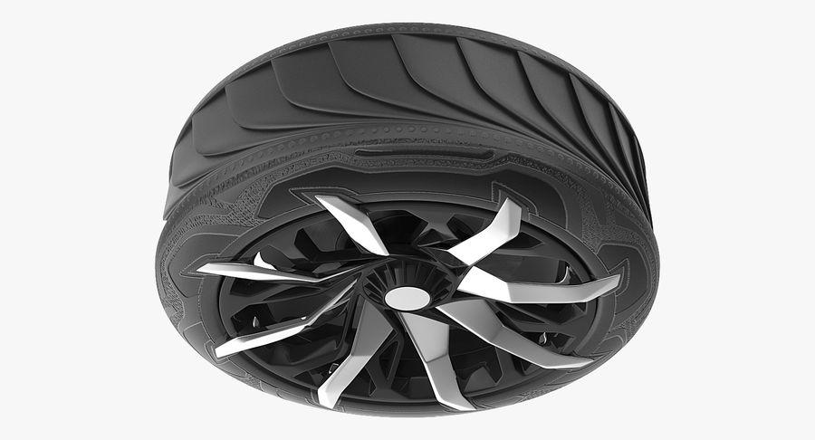 Rueda conceptual royalty-free modelo 3d - Preview no. 7