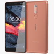 Nokia 5.1 Copper 3d model