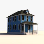 Düşük Poli Evi 3d model