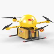 Delivery Drone 3d model