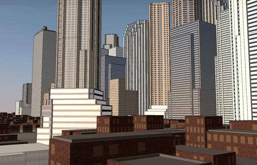街並み royalty-free 3d model - Preview no. 6