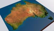 Australia 3d model