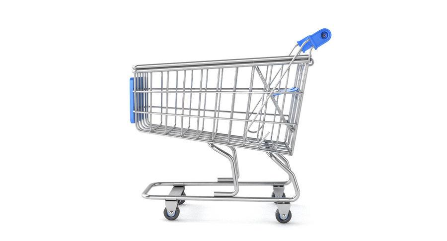 Carrinho de supermercado royalty-free 3d model - Preview no. 3