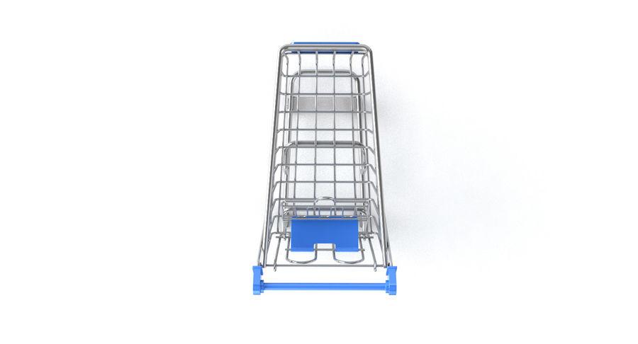 Carrinho de supermercado royalty-free 3d model - Preview no. 5