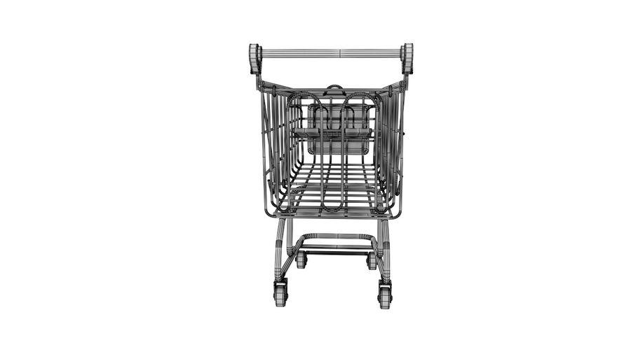 Carrinho de supermercado royalty-free 3d model - Preview no. 8