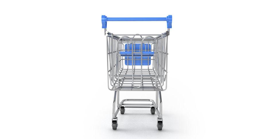 Carrinho de supermercado royalty-free 3d model - Preview no. 4