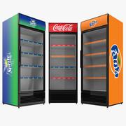 코카 패밀리 냉장고 3d model