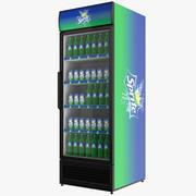 Fylld Sprite Endörrskärm 3D-kylskåp 3d model