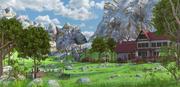 山房景观 3d model