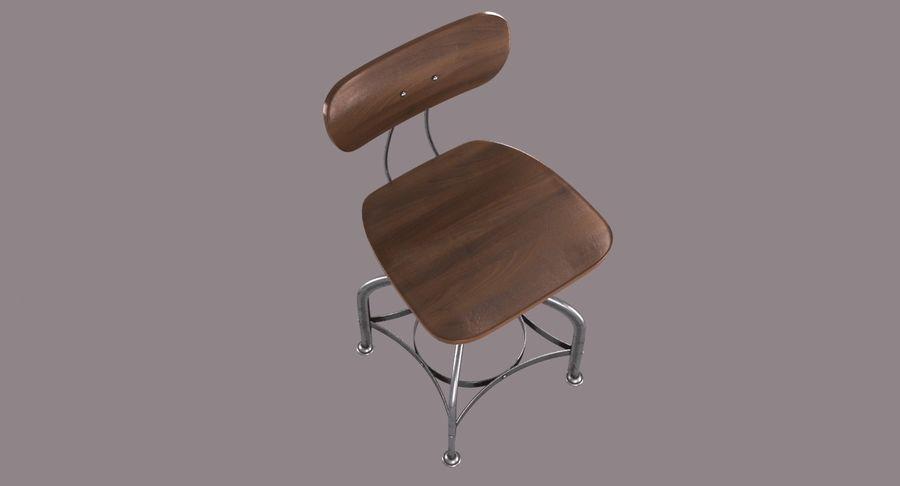 Krzesło przemysłowe royalty-free 3d model - Preview no. 5