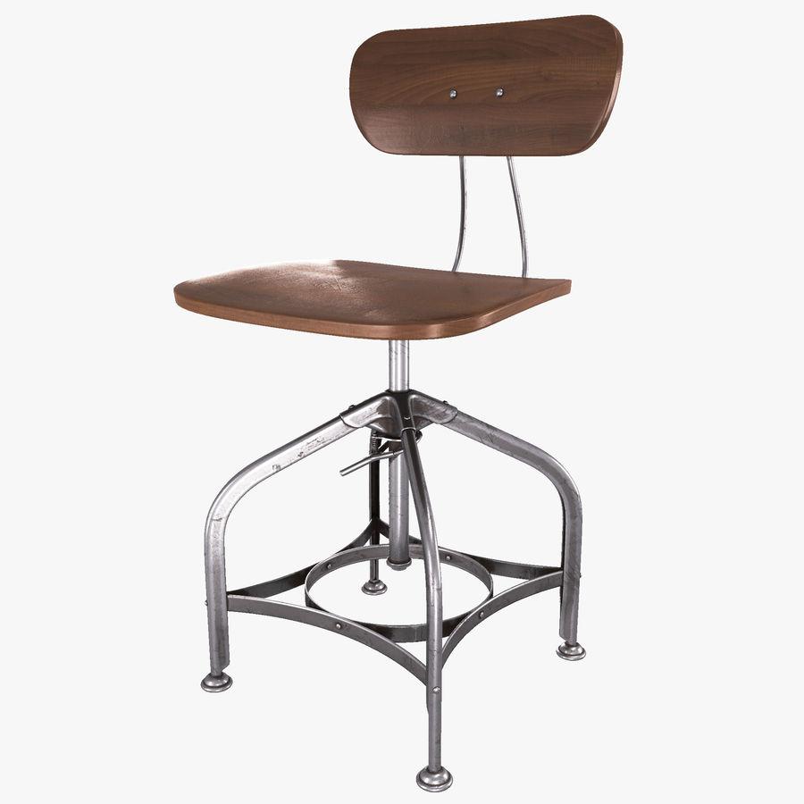 Krzesło przemysłowe royalty-free 3d model - Preview no. 1