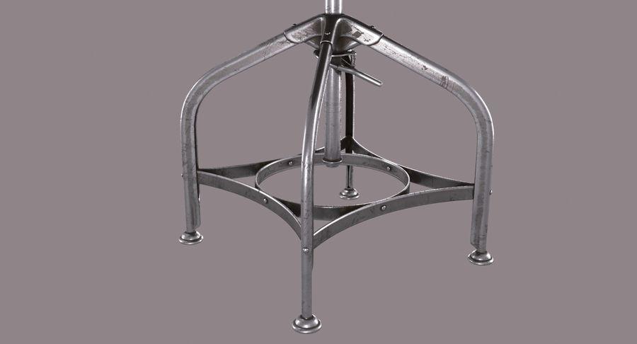 Krzesło przemysłowe royalty-free 3d model - Preview no. 7