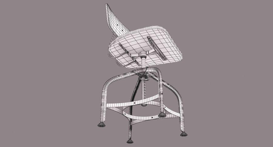 Krzesło przemysłowe royalty-free 3d model - Preview no. 14