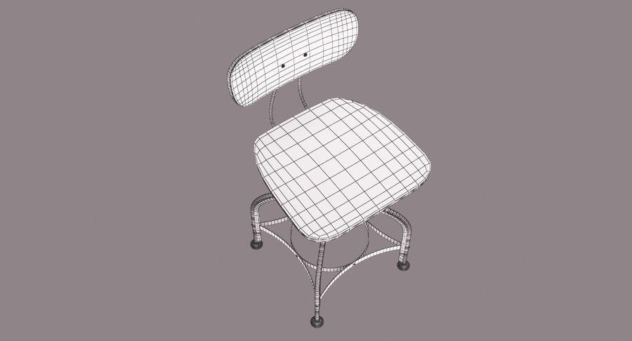 Krzesło przemysłowe royalty-free 3d model - Preview no. 13