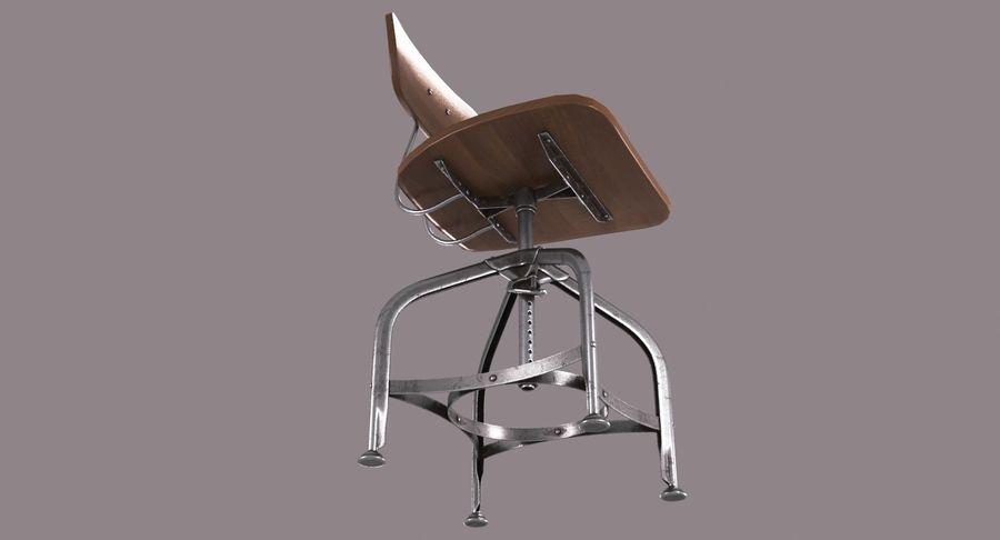 Krzesło przemysłowe royalty-free 3d model - Preview no. 6