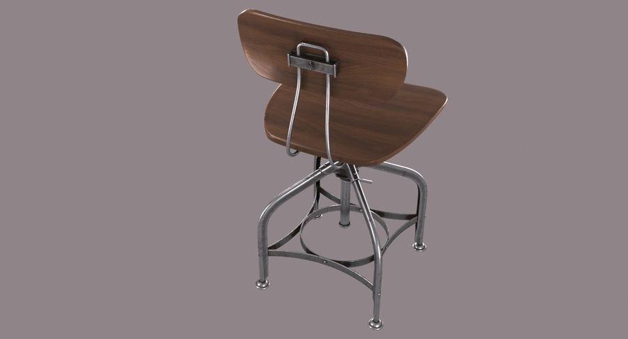 Krzesło przemysłowe royalty-free 3d model - Preview no. 9